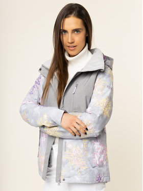 Roxy Roxy Veste de snowboard Jetty Snow ERJTJ03232 Gris Regular Fit