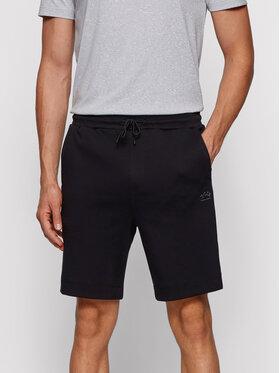 Boss Boss Pantaloni scurți sport Headlo 50455087 Negru Regular Fit