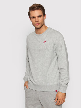 New Balance New Balance Sweatshirt MT13661 Grau Relaxed Fit