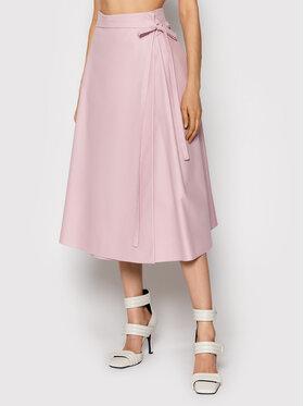 MSGM MSGM Trapézová sukňa 3141MDD15 217606 Ružová Regular Fit