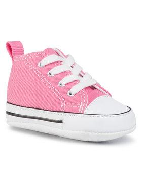 Converse Converse Sneakers aus Stoff First Star Hi 88871 Rosa