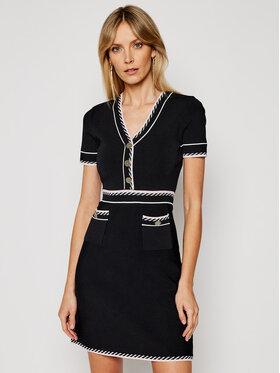 Morgan Morgan Kleid für den Alltag 211-RMROSE Schwarz Slim Fit