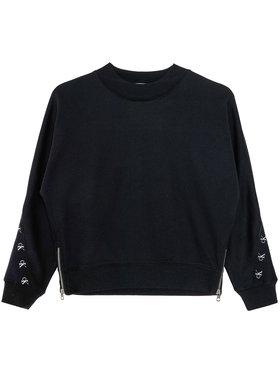 Calvin Klein Jeans Calvin Klein Jeans Bluză Monogram Tape IG0IG00687 Negru Regular Fit