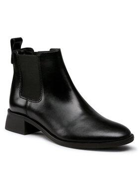 Tory Burch Tory Burch Členková obuv s elastickým prvkom Casual 35MM Chelsea Bootie 76062 Čierna