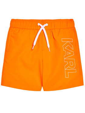 KARL LAGERFELD KARL LAGERFELD Kupaće gaće i hlače Z20055 S Narančasta Regular Fit