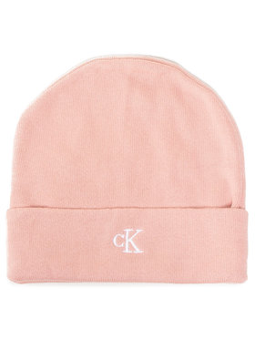 Calvin Klein Jeans Calvin Klein Jeans Čiapka Monogram Beanie IU0IU00145 Ružová