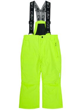 CMP CMP Lyžařské kalhoty 3W15994 Žlutá Regular Fit