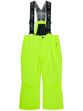 CMP CMP Spodnie narciarskie 3W15994 Żółty Regular Fit
