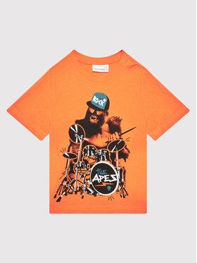 Coccodrillo Coccodrillo T-shirt ZC1143232EVB Orange Regular Fit