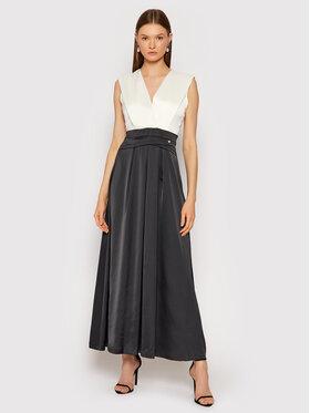 Rinascimento Rinascimento Večerné šaty CFC0104694003 Čierna Regular Fit