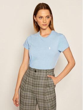 Polo Ralph Lauren Polo Ralph Lauren T-shirt Ssl 211734144031 Bleu Regular Fit