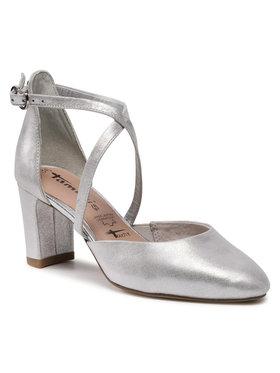 Tamaris Tamaris Κλειστά παπούτσια 1-24410-26 Ασημί
