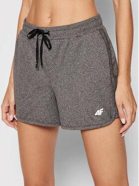 4F 4F Sportske kratke hlače NOSH4-SKDF001 Siva Regular Fit