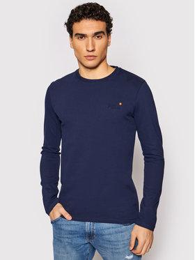 Superdry Superdry Marškinėliai ilgomis rankovėmis Vintage M6010119A Tamsiai mėlyna Regular Fit