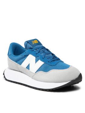 New Balance New Balance Sneakersy GS237OB1 Niebieski