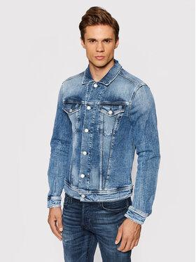 Replay Replay Kurtka jeansowa MV842J.000.141 Niebieski Regular Fit
