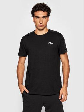 Fila Fila T-Shirt Nam 689137 Schwarz Regular Fit