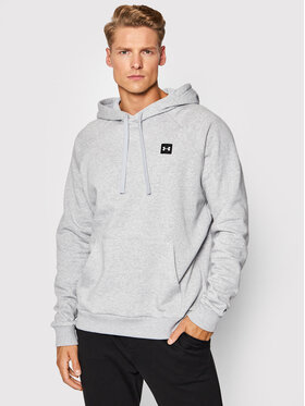 Under Armour Under Armour Bluza Rival Fleece 1357092 Szary Loose Fit