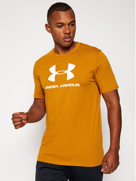 Under Armour Under Armour T-Shirt Ua Sportstyle Logo 1329590 Brązowy Loose Fit