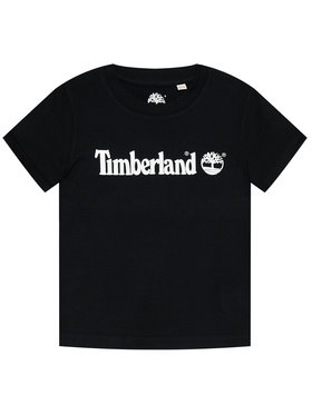 Timberland Timberland Tricou T25S28 D Negru Regular Fit