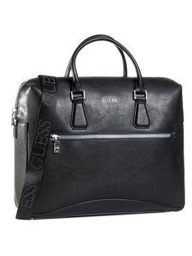 Guess Guess Чанта за лаптоп HMSCAL P0413 Черен