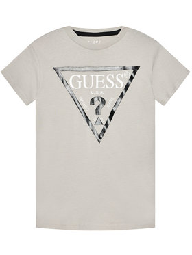Guess Guess T-Shirt L73I55 K5M20 Szary Regular Fit
