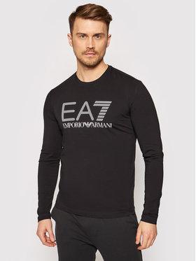 EA7 Emporio Armani EA7 Emporio Armani Тениска с дълъг ръкав 3KPT64 PJ03Z 1200 Черен Regular Fit