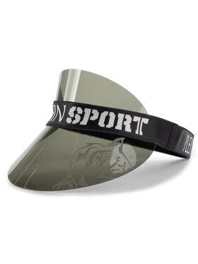 Plein Sport Plein Sport Козирка Visor Hat 000 MAC0395 STE003N Черен