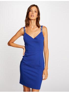 Morgan Morgan Koktejlové šaty 212-RIMIE.F Tmavomodrá Slim Fit