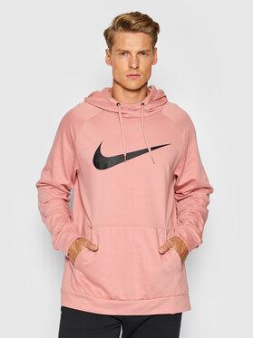 Nike Nike Mikina Dri-FIT CZ2425 Růžová Standard Fit