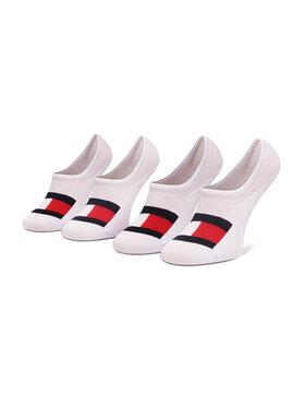 Tommy Hilfiger Tommy Hilfiger Комплект 2 чифта терлик мъжки 100002662 Бял