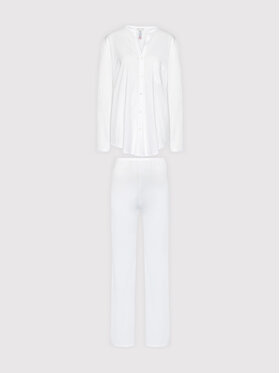 Hanro Hanro Πιτζάμα Deluxe 7956 Λευκό