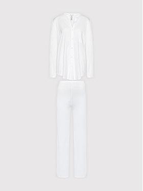 Hanro Hanro Piżama Deluxe 7956 Biały