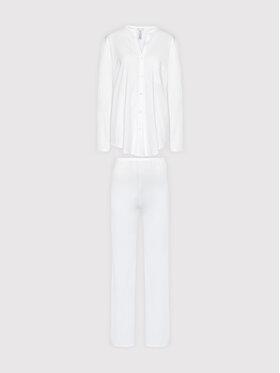 Hanro Hanro Pyjama Deluxe 7956 Blanc