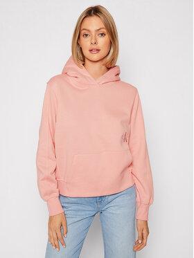 Calvin Klein Jeans Calvin Klein Jeans Mikina J20J216234 Ružová Relaxed Fit