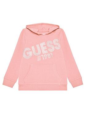 Guess Guess Bluza K1YQ00 KA6V0 Różowy Regular Fit
