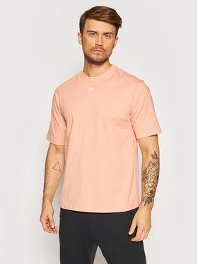 adidas adidas T-Shirt Adicolor Essentials H06647 Różowy Loose Fit