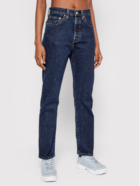 Levi's® Levi's® Jeansy 501™ 36200-0179 Granatowy Cropped Fit