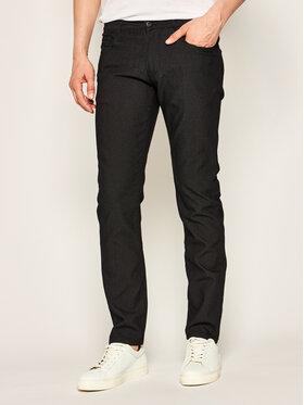 Emporio Armani Emporio Armani Spodnie materiałowe 3H1J06 1N2NZ 0999 Czarny Slim Fit