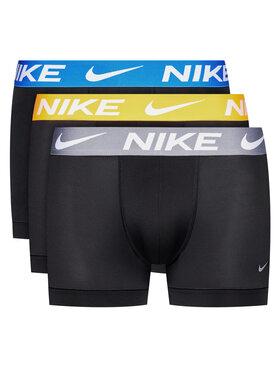 Nike Nike Sada 3 párů boxerek Essential Micro 0000KE1014 Černá