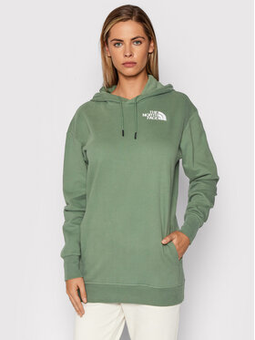 The North Face The North Face Majica dugih rukava NF0A55GKV1T1 Zelena Relaxed Fit
