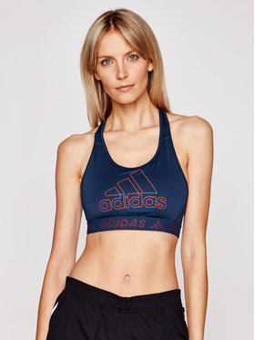 adidas adidas Reggiseno top Dont Rest Badge Of Sport GM2830 Blu scuro