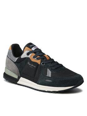 Pepe Jeans Pepe Jeans Sneakersy Tinker Pro Treck PMS30769 Černá