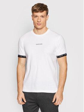Calvin Klein Calvin Klein T-Shirt Archive Logo K10K108185 Λευκό Regular Fit