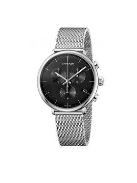 Calvin Klein Calvin Klein Uhr Gent Chrono K8M27121 Silberfarben