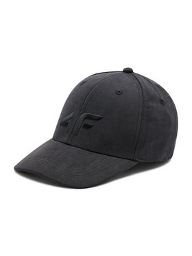 4F 4F Καπέλο Jockey H4L21-CAD001 Μαύρο