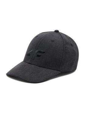 4F 4F Kšiltovka H4L21-CAD001 Černá