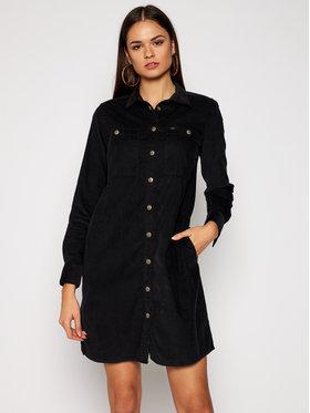 Lee Lee Košeľové šaty Workshirt L50SMR01 Čierna Regular Fit