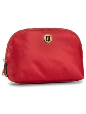 Tommy Hilfiger Tommy Hilfiger Pochette per cosmetici Poppy Washbag Corp AW0AW08908 Rosso