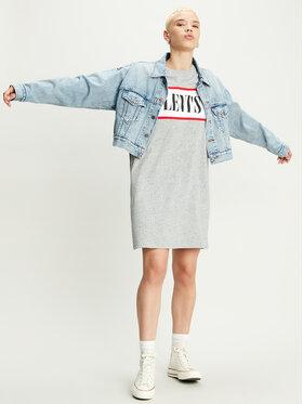 Levi's® Levi's® Každodenné šaty 85747-0001 Sivá Regular Fit